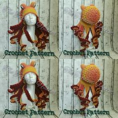 Crochet octopus pattern on etsy. The Twisted Hatter
