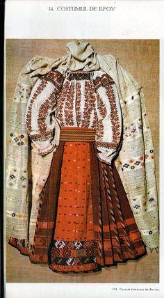 Ilfov, Muntenia (Wallachia) Folk Costume, Costumes, Pattern Making, Textiles, Ballet, Traditional, My Style, How To Make, Moldova