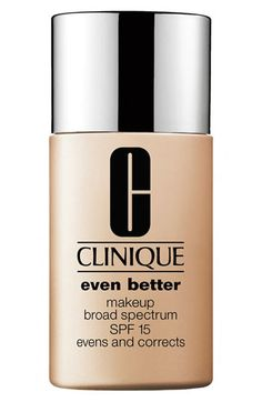 Clinique 'Even Better' Makeup SPF 15 available at #Nordstrom