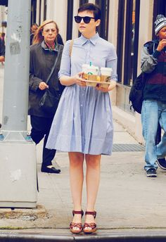 Weekly Inspiration: Snow White I love Ginnifer Goodwin's style.
