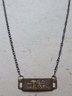 Upcycled Recycled Repurposed Star Wars pendant on a by OakbyLF, $35.00