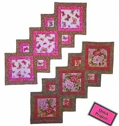 Accent Your Focus Table Runner Pattern by Carolyn's Creative Designs at Creative Quilt Kits