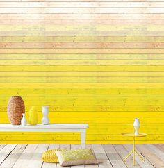 Skøn gul væg.