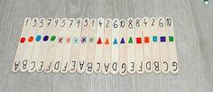 Mám 20 dětí, takže pokud potřebuji dvojice, spojí se stejné číslice. Když chci trojice (a jednu dvojici), spojí se stejná písmena, když chci čtveřice, jdou k sobě stejné barvy, a když chci pětice, spojí se tvary. Často pracujeme na 2 skupiny, takže to máme rozdělené na sudá a lichá čísla. Asi to vypadá moc složitě, ale během 10 vteřin máme skupiny a nikdo si nestěžuje, s kým musí pracovat.