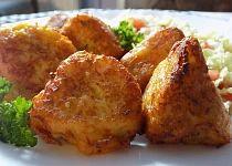 Květák v bramborovo-sýrovém těstíčku Tandoori Chicken, Cauliflower, French Toast, Treats, Vegetables, Breakfast, Ethnic Recipes, Decor, Head Of Cauliflower