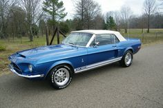 1968 Ford Mustang Shelby Convertible GT 350 clone