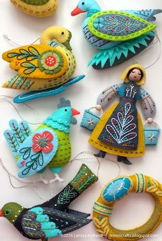 tips and tools for making your Twelve Days ornaments