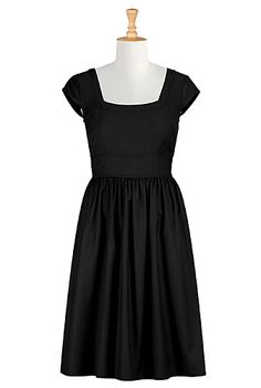 I <3 this Beau coup black frock from eShakti