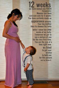 Pregnancy Journal Idea.  So cute!