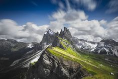 Seceda Peak By Fatih M. Sahbaz