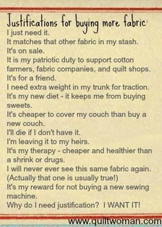 Just think my quilt sisters would like this. Quilting Room, Quilting Tips, Longarm Quilting, Quilting Tutorials, Sewing Hacks, Sewing Projects, Sewing Tips, Sewing Humor, Quilting Quotes