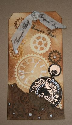 Just loving the cogs tag from Kath.