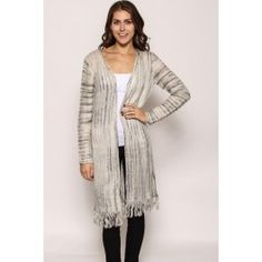 http://www.salediem.com/shop-by-size/small/fringe-hem-striped-cardigan.html #salediem #fashion #dresses #fallfashion