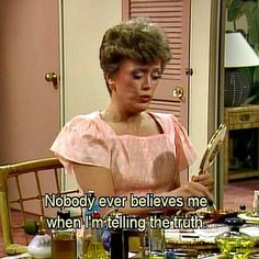"""Occasionally it seems your good looks are holding you back. 