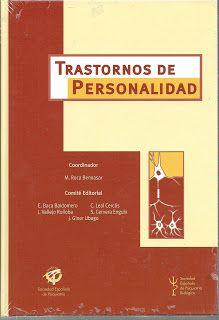 LIBROS DVDS CD-ROMS ENCICLOPEDIAS EDUCACIÓN EN PREESCOLAR. PRIMARIA. SECUNDARIA Y MÁS: LIBRO : TRASTORNOS DE PERSONALIDAD