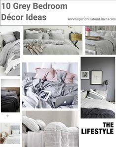 10 Grey Bedroom Decor Ideas