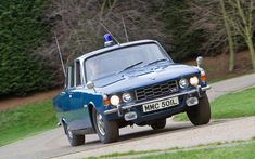 Britain's 100 finest-ever cars British Police Cars, Old Police Cars, Emergency Vehicles, Police Vehicles, Rover P6, Classic Cars British, Mg Midget, Honda S, Ford Escort