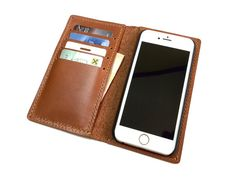 Bekijk alle stijlvolle iPhone hoesjes - #designer leather iphone case uk | Handmade iPhone 6  and iPhone 6 Plus Wallet by MihaiLeather - http://lereniPhone5hoesjes.nl