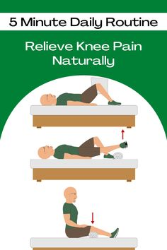 Simple & effective exercise routine to help people over 50 improve knee strength and reduce knee pain.