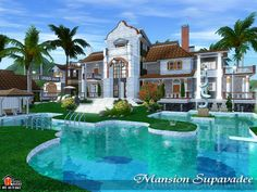 Victorian Luxurious Supavadee Mansion by Autaki - Sims 3 Downloads CC Caboodle