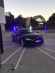 Audi Sydney and sunset