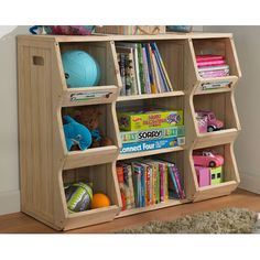 Cubbies and book storage.  Merry Products Children's Bookshelf Cubby | Wayfair