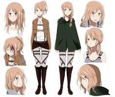 Attack on Titan character design