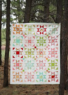 Shine- a new pattern by Sherri McConnell of A Quilting Life- made with Scrumptious by Bonnie & Camille