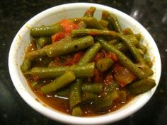 Green Bean with Tomatoes and Olive Oil   The Levantess. Save prep-time by using frozen green beans instead!