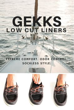 Featured on Total Frat Move: Gekks Liners - not low cut socks. These customized liners fit almost all drivers, loafers and boat shoes while providing incredible comfort, sweat and stench prevention and give the effortless, classic style of a sockless look without the smelly, sticky side effects. Now available in women's styles!    www.MYGEKKS.com, available in 1, 2, 3 & 4 packs