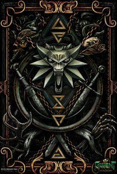 The Witcher 3, Witcher 3 Art, The Witcher Wild Hunt, Dark Fantasy Art, Dark Art, Sif Dark Souls, Witcher Tattoo, Marshmello Wallpapers, Witcher Wallpaper