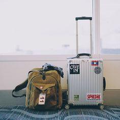 See you later America. #rimowa #filson #magnumphotos