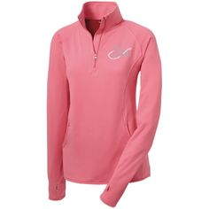 Lady Angler Women's Half Zip Performance Pullover