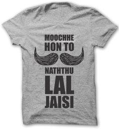 A creative design of a retro hindi movie dialogue! Movie Dialogues, Hindi Movies, The Chic, Creative Design, Bollywood, Posts, Retro, Mens Tops, T Shirt