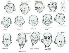 emotion exaggeration animation - Tìm với Google