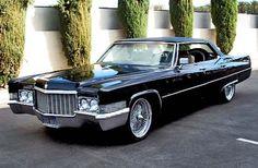 1970 Cadillac DeVille. Love love..