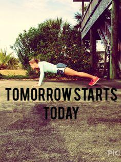 tomorrow starts today! - thinspirationparty.com