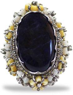 Bellus Domina - Amare Sodalite Ring