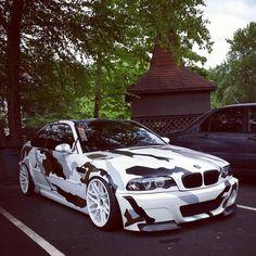 BMW E46 M3 in camo