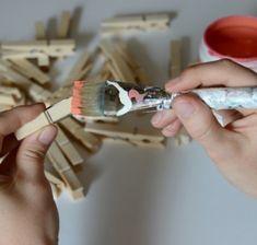 30 DIY Ideen fürs Basteln mit Wäscheklammern