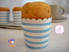 TORTINE DELLE NUVOLE Cooking With Kids, Cooking Time, Sweet Nothings, Italian Recipes, Sweet Recipes, Muffins, Deserts, Pudding, Cheese