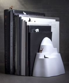 Look at this #zulilyfind! Iceberg Seven-Piece Bookend & Bookmark Set by Qualy #zulilyfinds