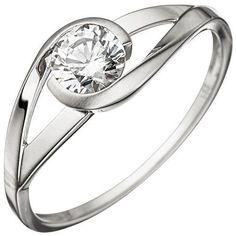 Dreambase Damen-Ring teilmattiert 8 Karat (333) Weißgold ... https://www.amazon.de/dp/B01HHGBSA0/?m=A37R2BYHN7XPNV
