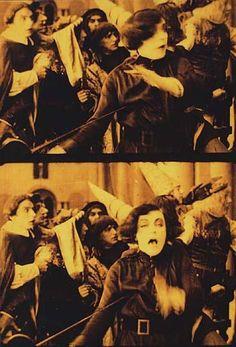 Szene mit Asta Nielsen (Einzelbilder aus Nitro-Original)