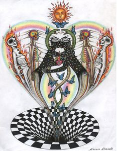 Esoteric Art, Psy Art, Grunge Art, Art Corner, Funky Art, Hippie Art, Retro Futurism, Psychedelic Art, Art Sketchbook