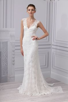 monique lhuillier bridal dresses 2014