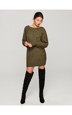 Miękki sweter, Swetry, zielony, RESERVED