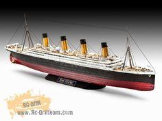 MAQUETA R.M.S. TITANIC, 1912 Titanic Model, Rms Titanic, Miniatures, Model Ships, Minis