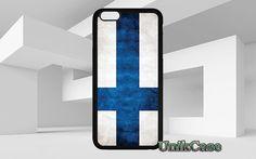 Finlande drapeau pour iPhone 4 4 s 5 5 s SE 6 s 6 par UnikCase1 VINTAGE/Retro/ www.UnikCase.com