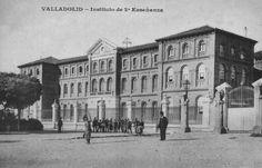 Instituto José Zorrilla. Valladolid. En este Instituto ejerció la docencia Narciso Alonso Cortés desde 1912, en su Cátedra de Lengua y Lieteratura. También fue su Director desde 1918 a 1930. Le retiraron, represaliado, para jubilarle en 1942.